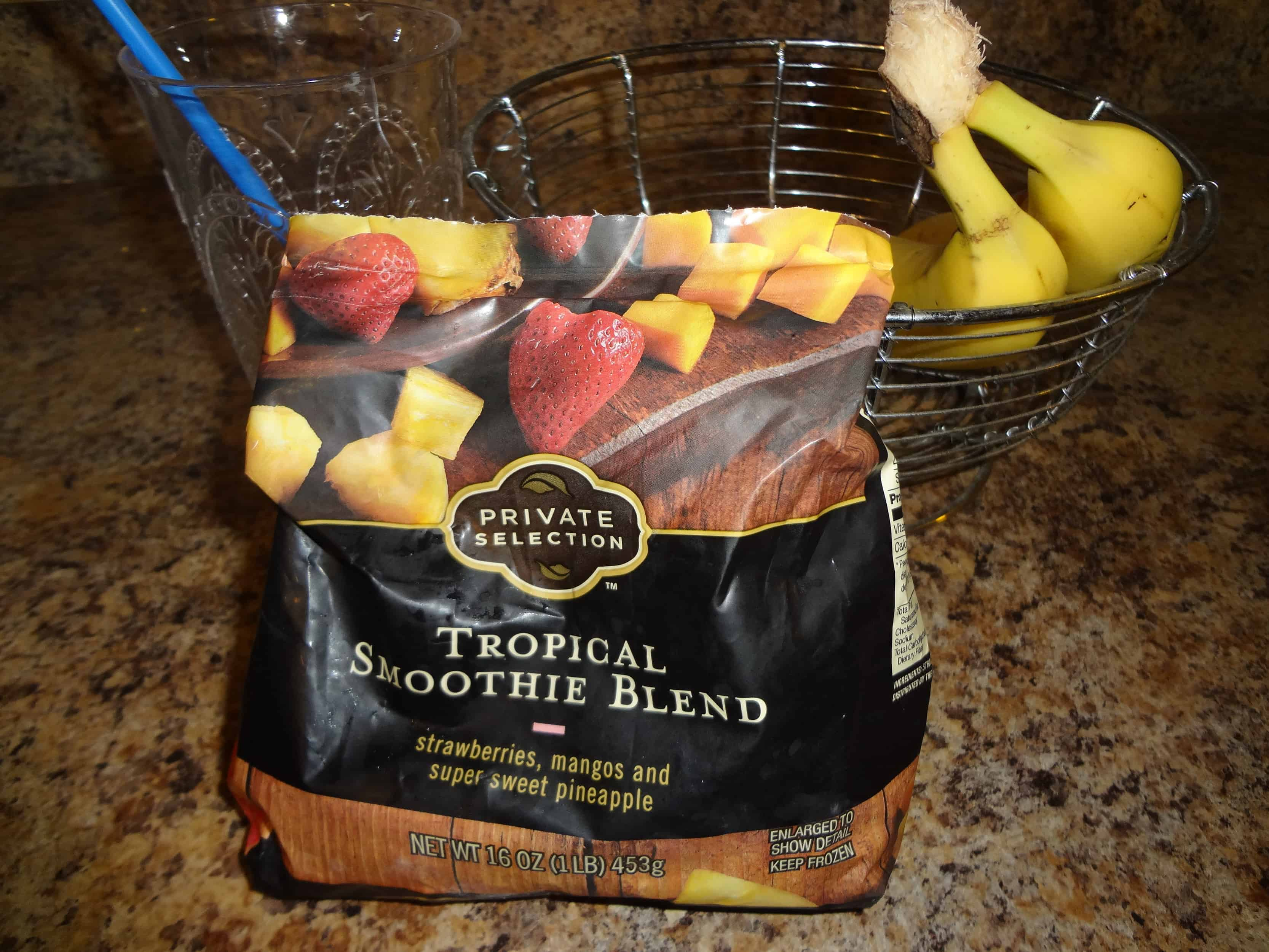 tropical smoothie blend