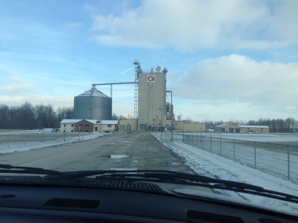 Cooper Farms Feedmill in Fort Recovery