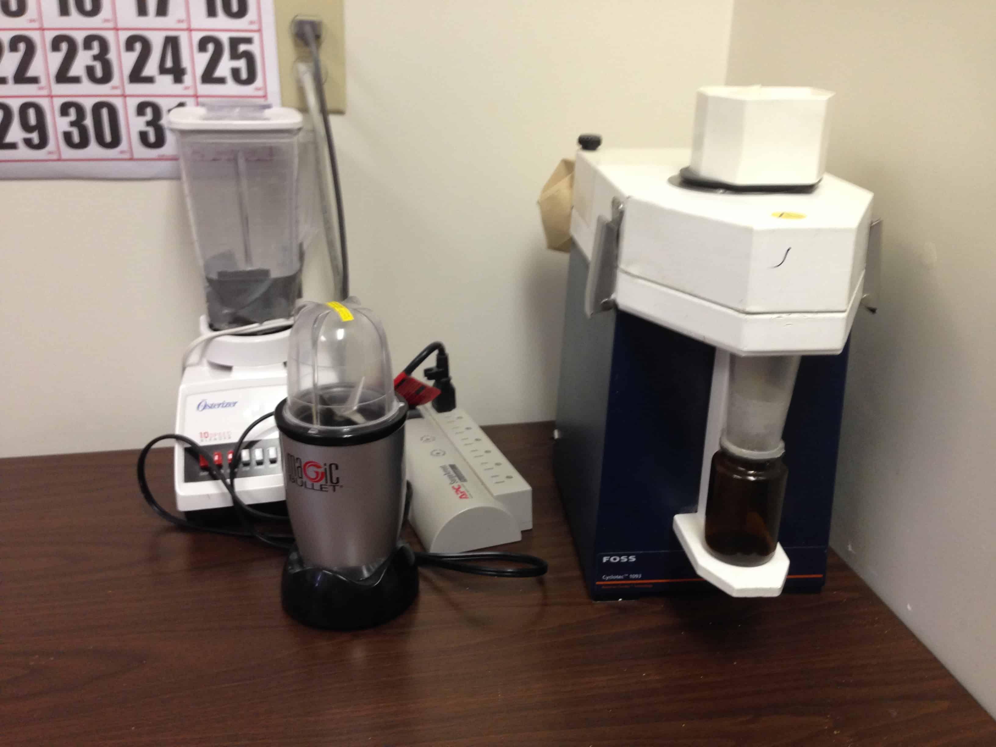 blenders in feedmill office