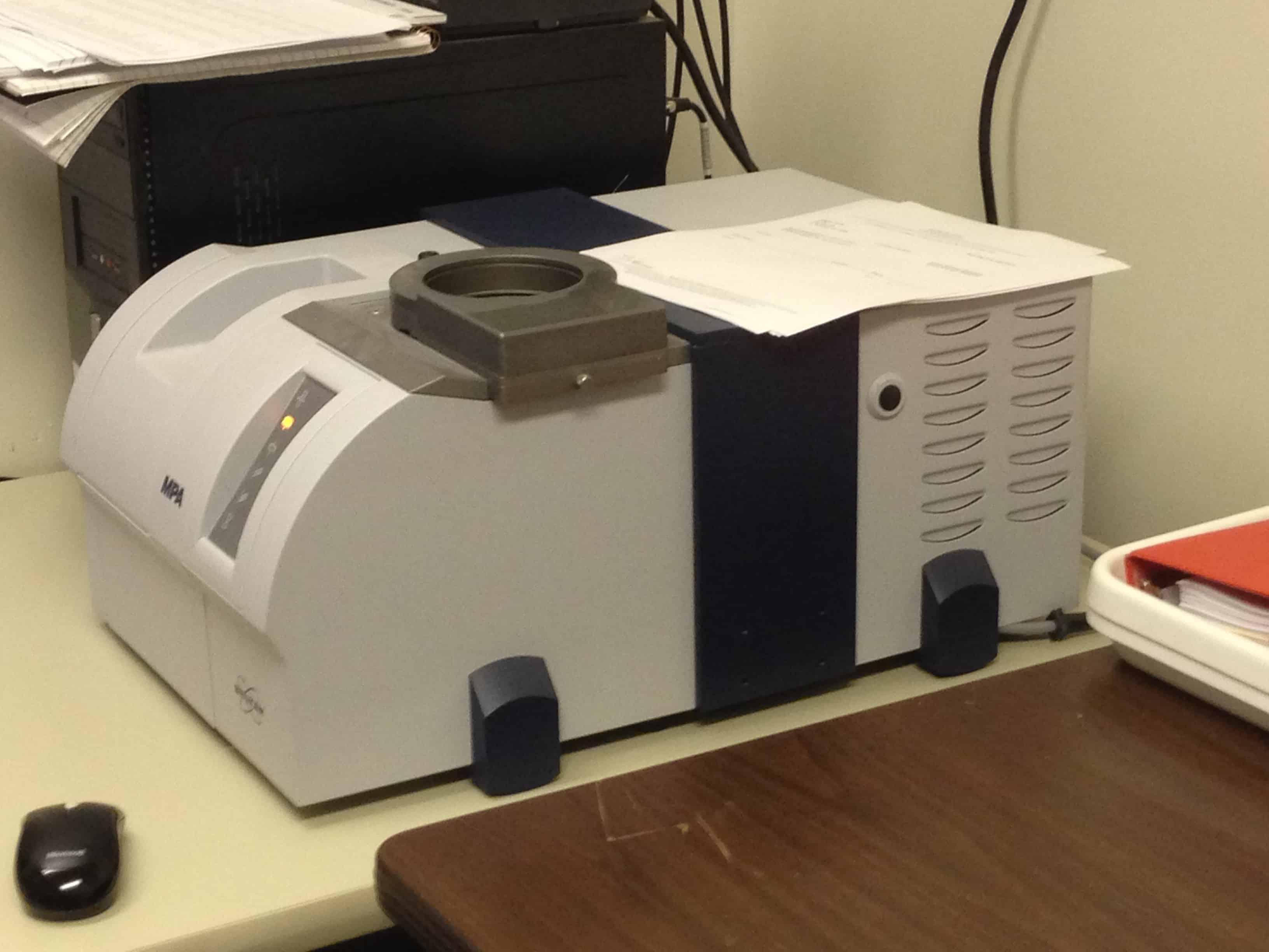 NIR testing machine