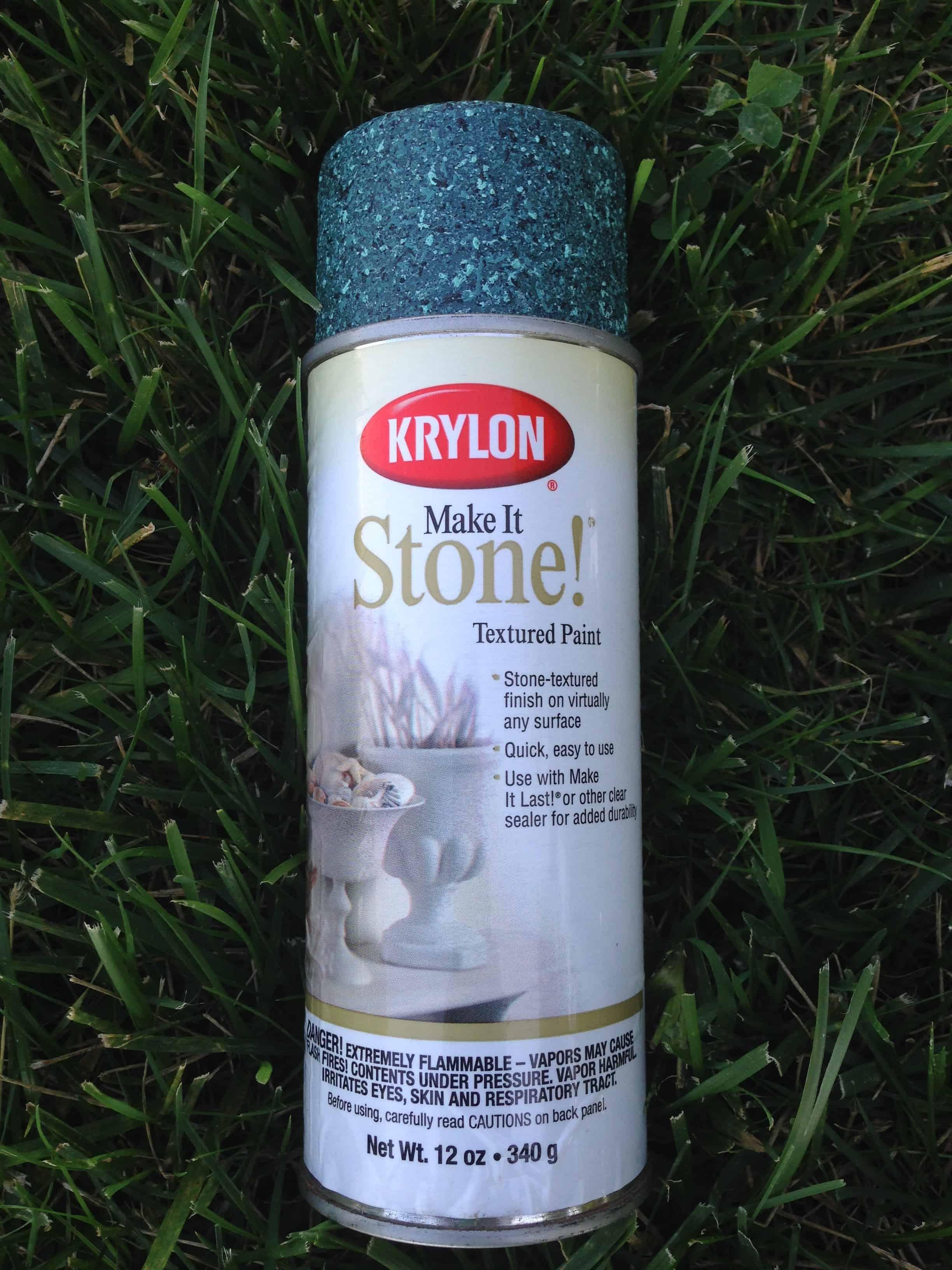 Krylon make it stone spray paint