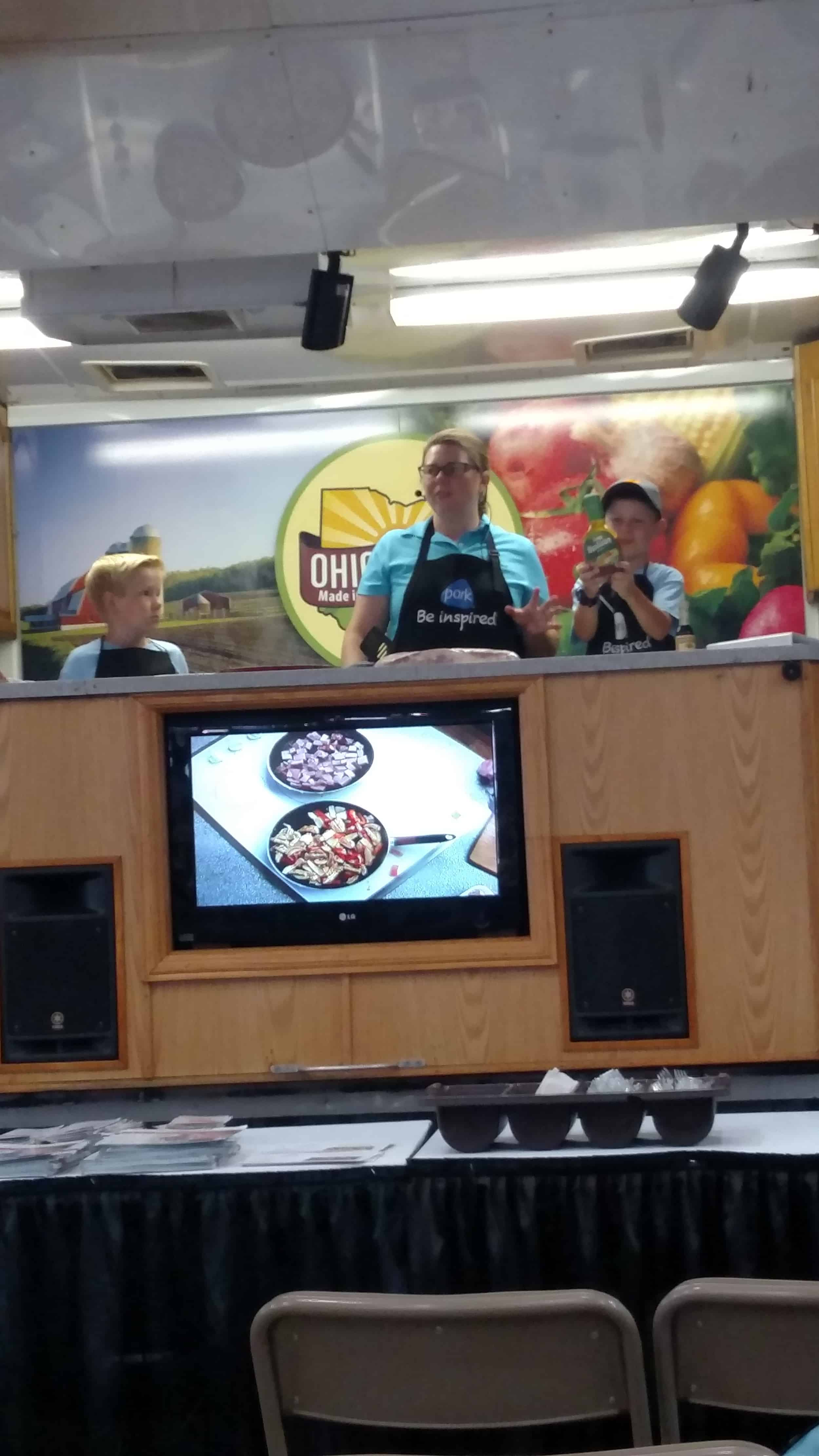 state fair cooking demo