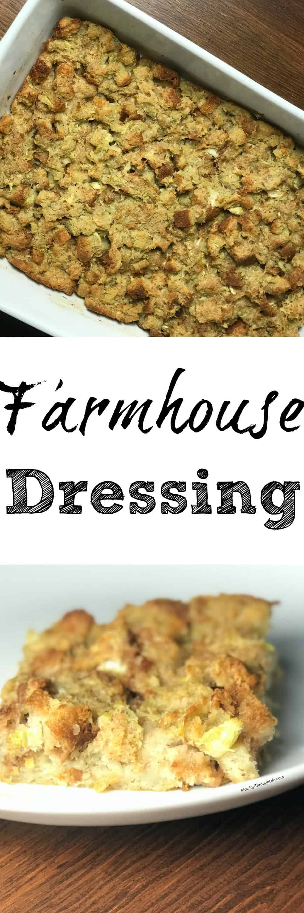 collage of best dressing recipe