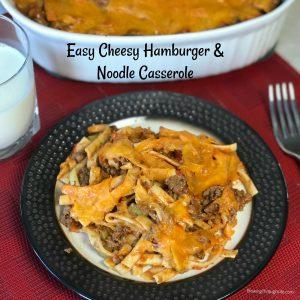 easy hamburger casserole