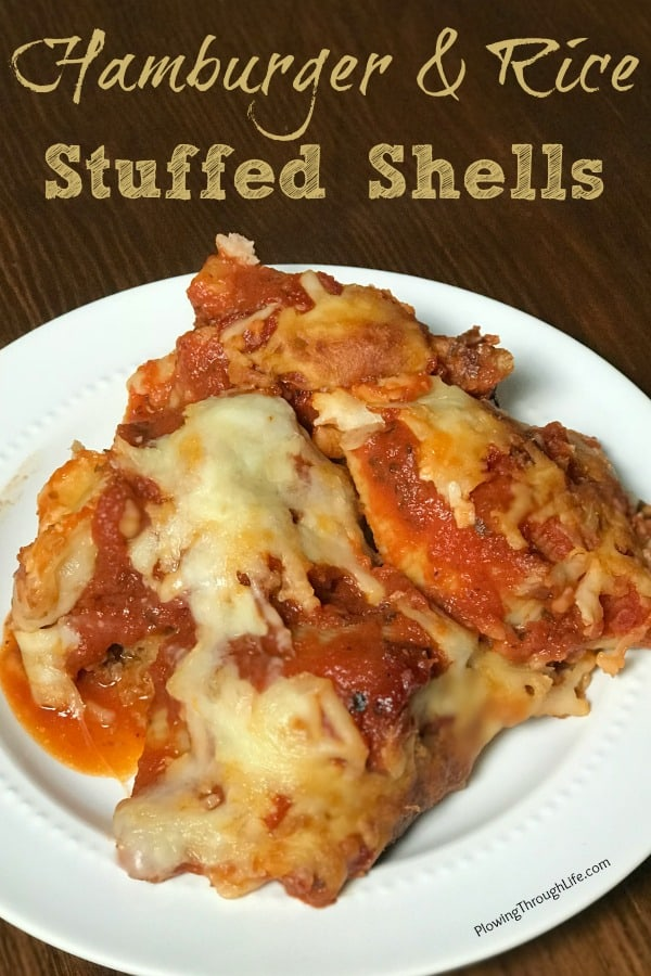 hamburger stuffed shells