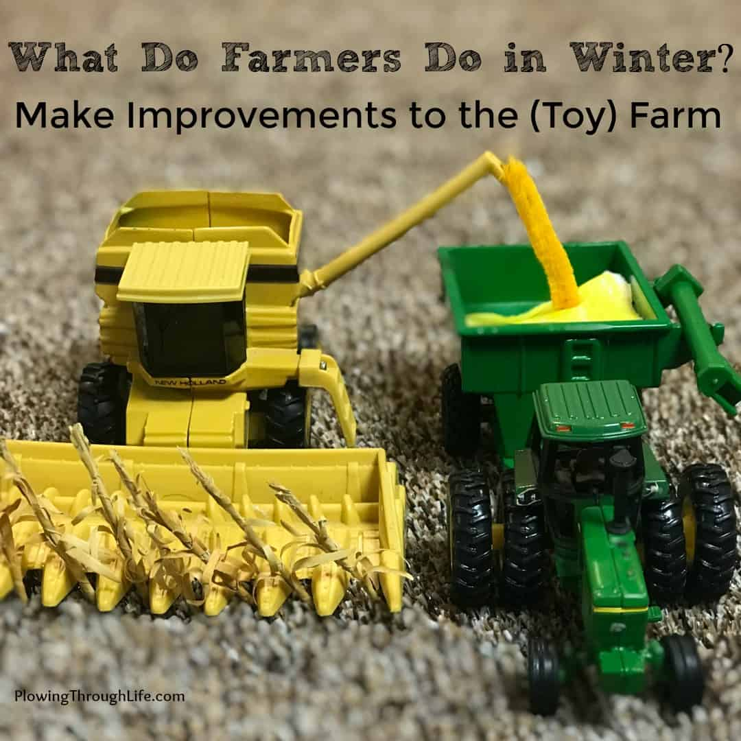 1/64 farm scene idea harvest new holland combine unloading into john deere tracotor and grain cart
