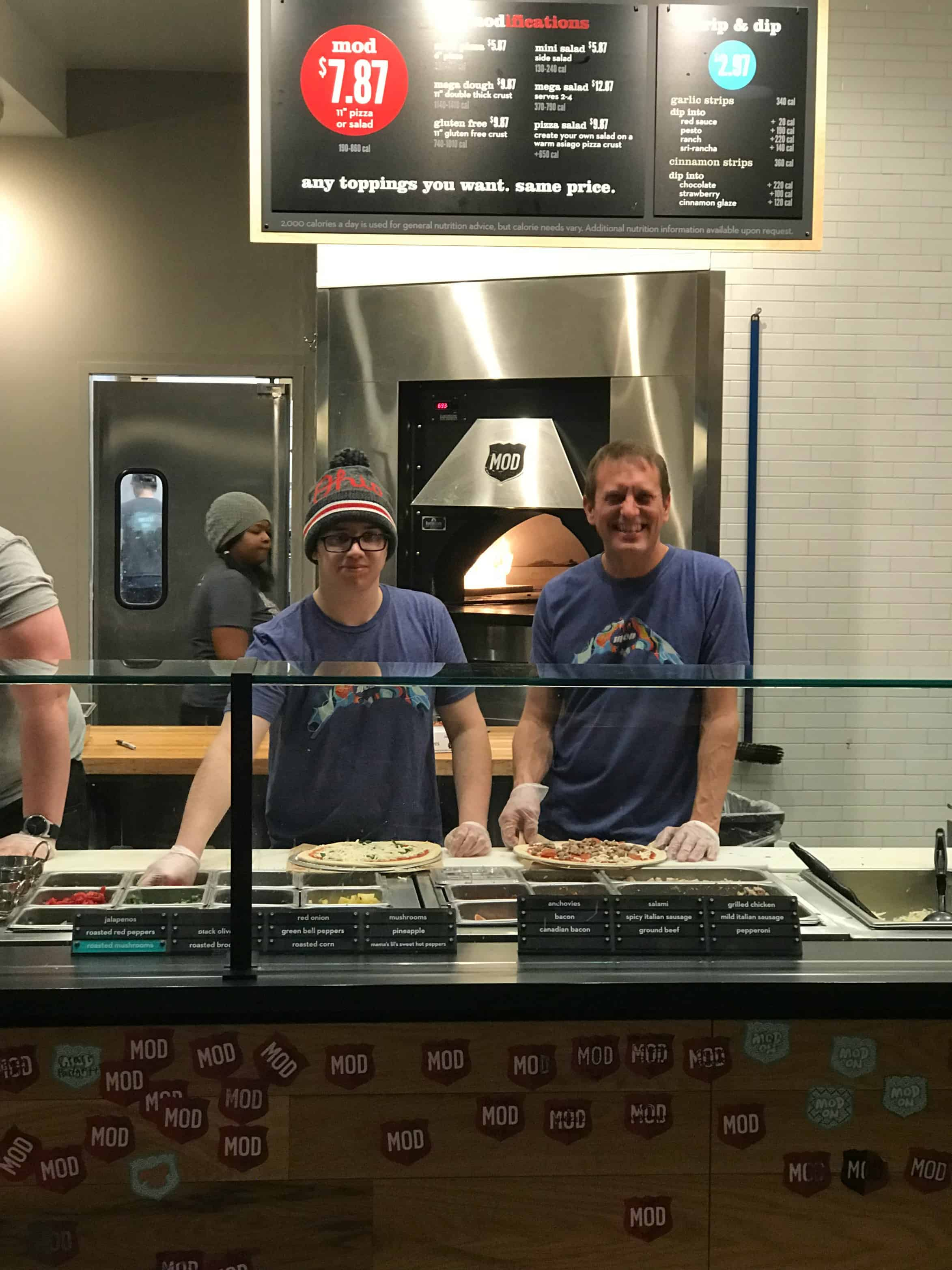 MOD Pizza employees