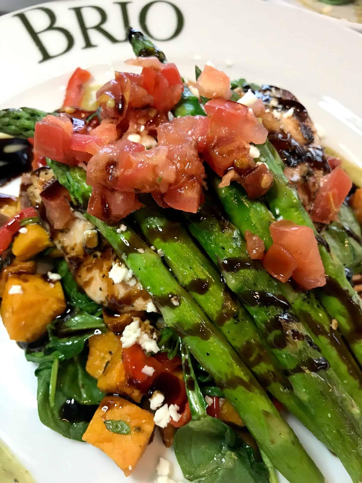Grilled Salmon Fresca