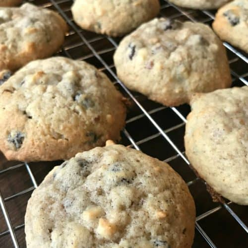 Farmhouse Applesauce Raisin Cookies are delicious, moist, easy to make and call for simple ingredients that you likely have on hand!
