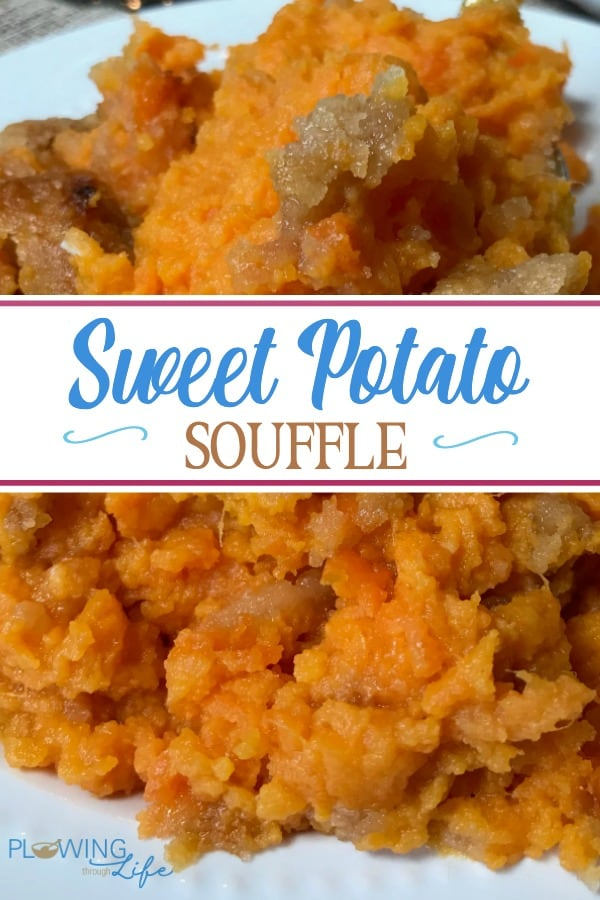Sweet Potato Soufflé is a favorite potato casserole at our holiday meals