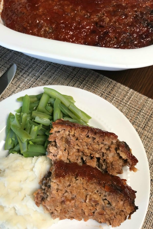 Are you craving a moist and delicious meatloaf?  Here is the recipe my mom has spent years perfecting - Farmhouse Meatloaf.  This is a wonderful meatloaf recipe everyone will enjoy!