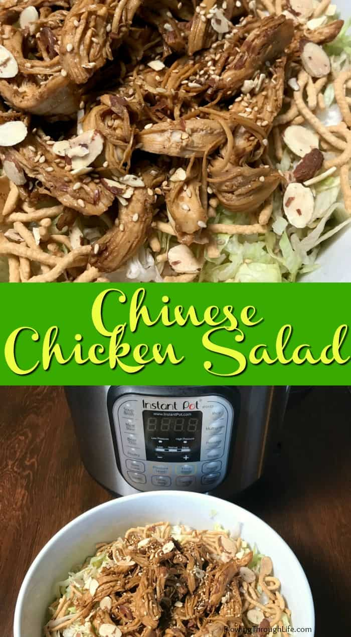 This Chinese Chicken Salad is so delicious we made it twice in the same week!  It is a restaurant quality salad, but super easy to make at home!
