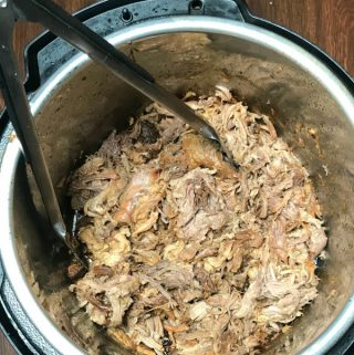 We love making the Best Instant Pot Pulled Pork for meal prep meals in our house!  Adding bbq sauce for sliders, making loaded baked potatoes and nachos are all family favorite meals.  Pulled pork gives us so many dinner options at a great value! #easymeal #easyInstantPotrecipe