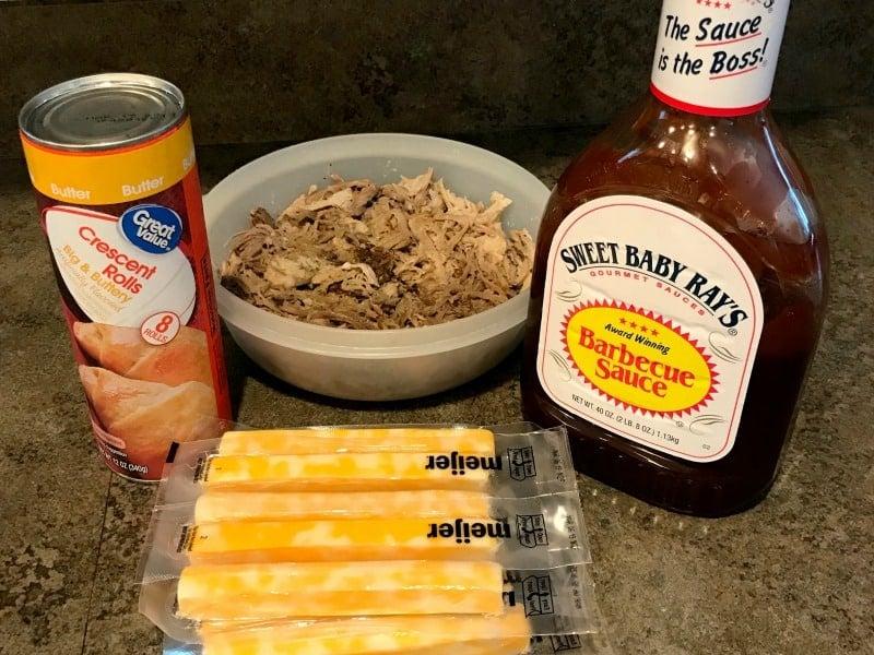 bbq pork crescent ingredients