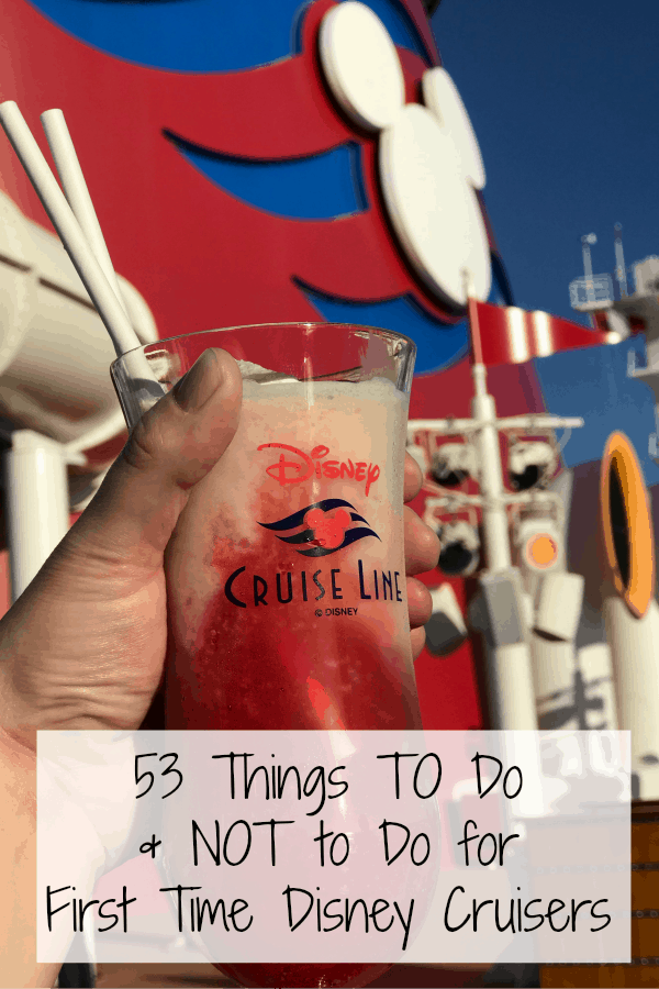 53 Things to Know Before Going on a Disney Cruise for first time cruisers