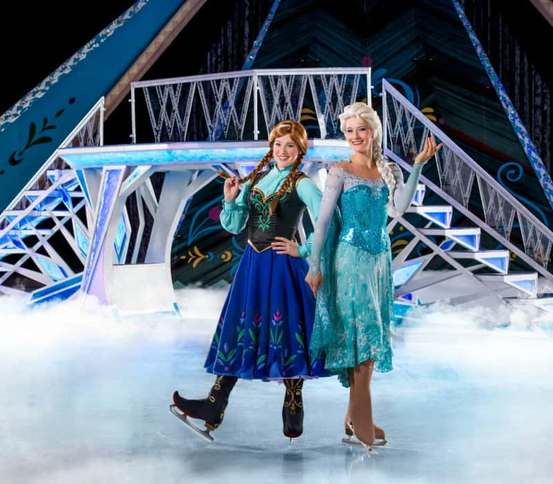 Ana & Elsa at Disney's FROZEN on Ice