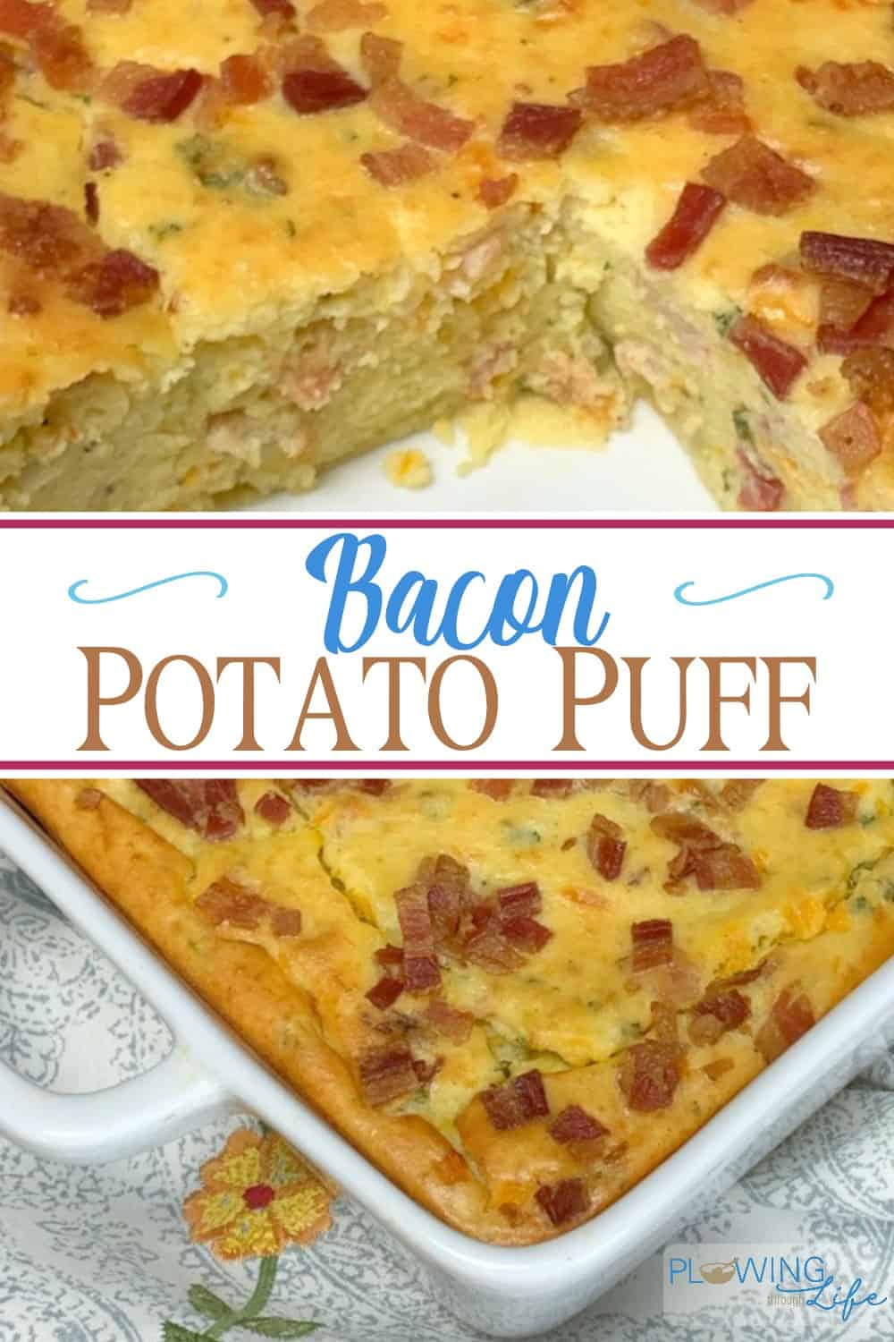 Bacon Potato Puff