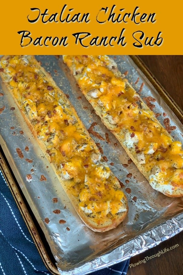 Baked Chicken Bacon Ranch Sub