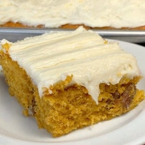 Pecan Pumpkin Bars with Cream Cheese Icing is an easy pumpkin recipe with cream cheese