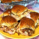 4 easy turkey sliders on Kings Hawaiian Rolls