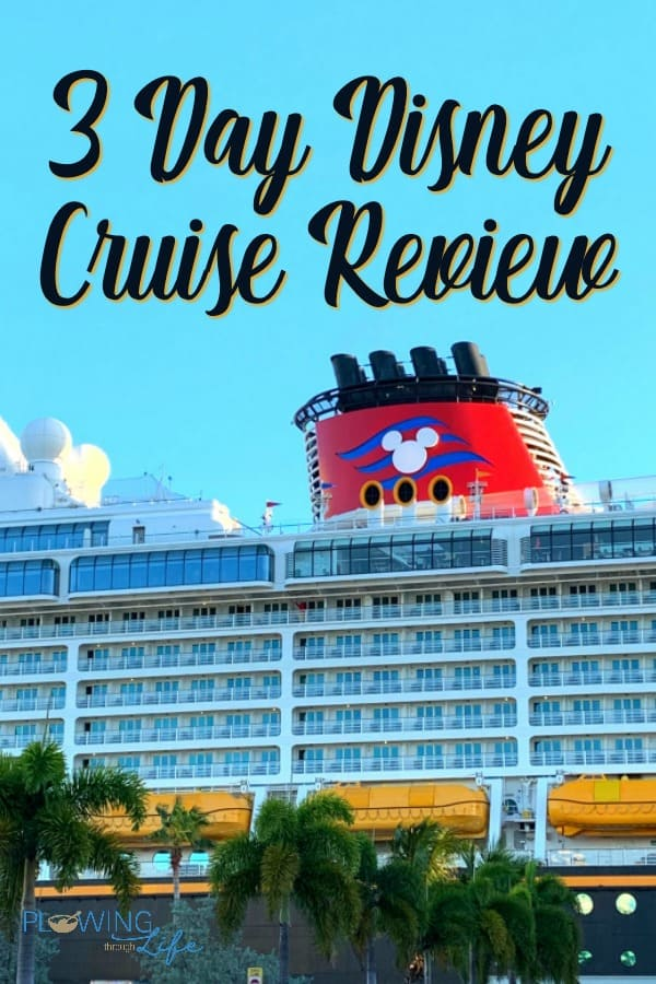 Disney Dream Cruise ship in Port Canaveral with mickey ears on smoke stack