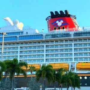 Disney dream in port