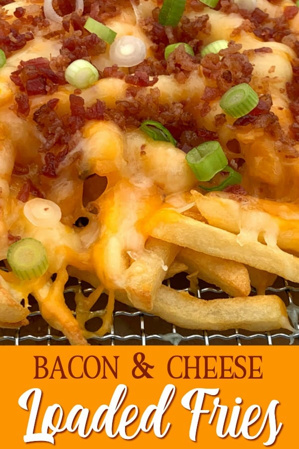 Bacon & cheese loaded fries