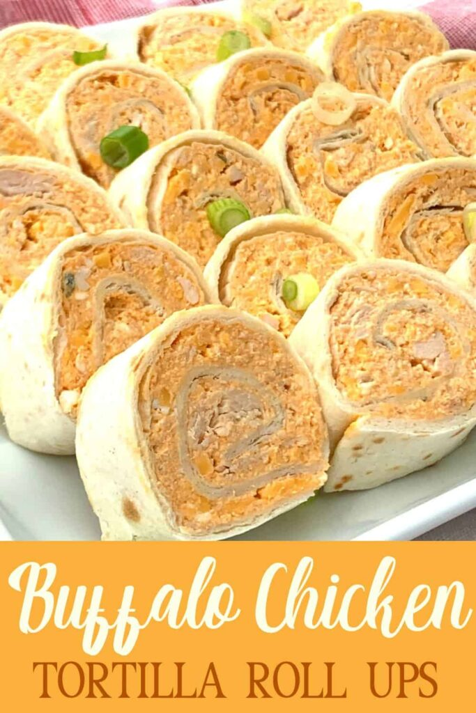 Buffalo Chicken Ranch Rollups with text