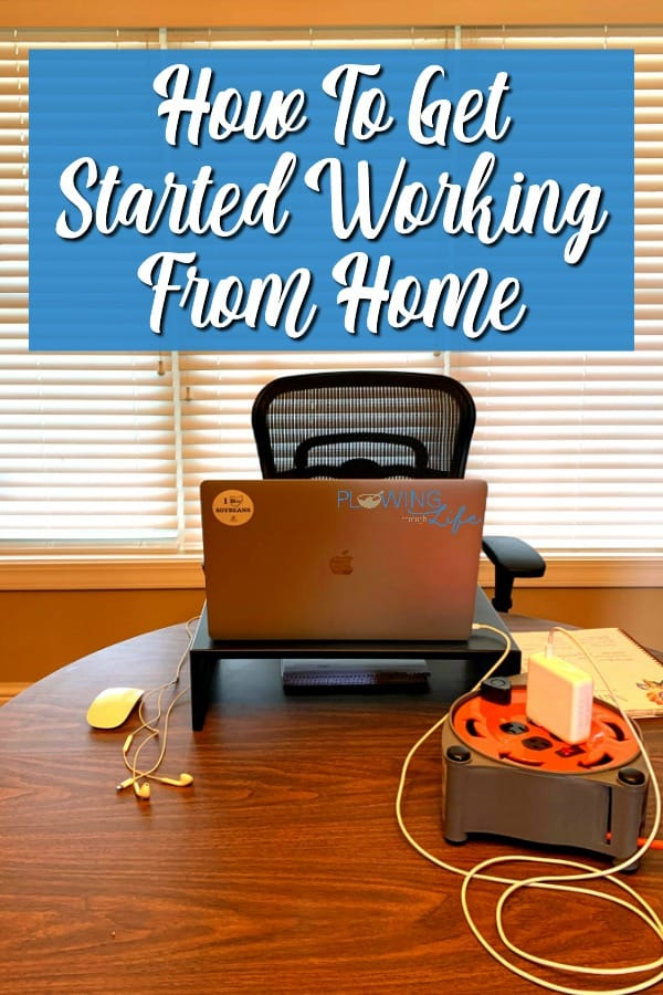 Tips & tricks for setting up an impromptu home office