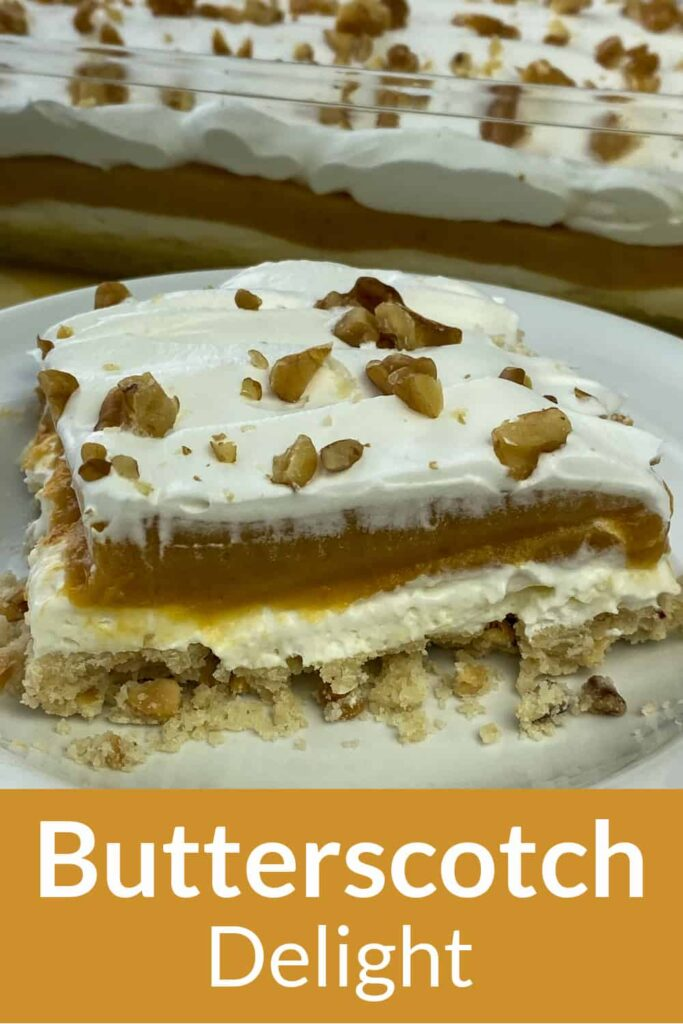 Butterscotch Delight with text