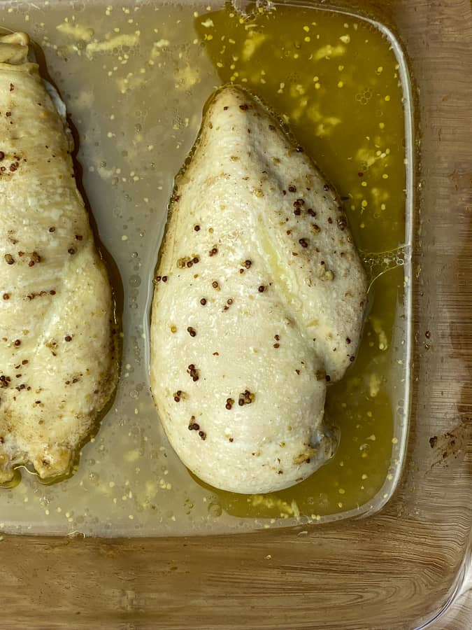 Keto garlic butter baked chicken