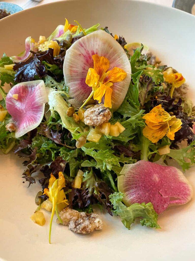 Caribbean Spice Necklace Salad from Sebastians