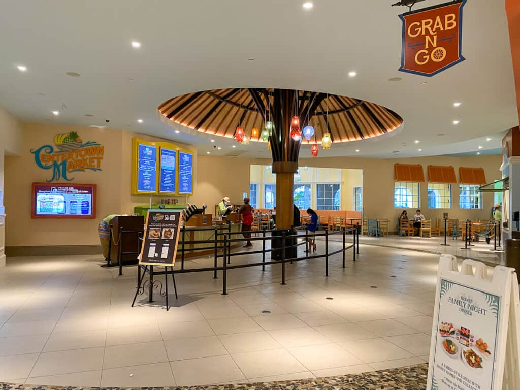 Centertown Market food court and grab n go