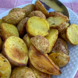 Easy Air Fried Baby Potatoes